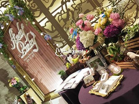 【婚禮佈置】新莊頤品飯店