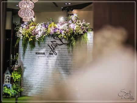 晶麒莊園婚禮佈置-綺麗廳+巴黎廳+繽紛廳『時尚自然浪漫風-紫白色』婚禮...1060624