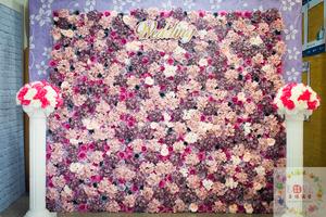 19號硬式背板套餐❤Rose Rose粉紫款