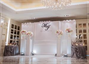囍宴軒婚禮佈置-蒂芬妮廳『時尚簡約風-粉白色』婚禮...1060520