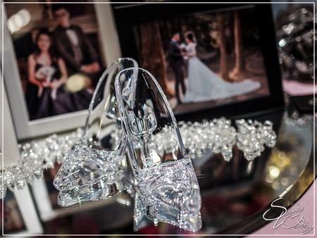 諾富特機場飯店婚禮佈置『浪漫灰姑娘風-藍白粉桃紅色』婚禮...1070428