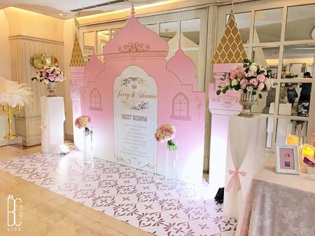 【粉紅城堡】客製化婚禮