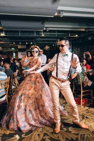 獨角獸婚禮攝影愛分享