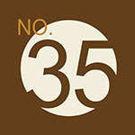 NO.35 Studio。参拾伍號攝影棚的logo