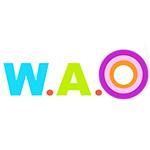 W.A.O photography的logo