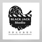 BLACK JACK Studio 黑傑克影像製作的logo