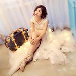vivi子溱♡幸福花嫁 V.J 新秘日記♡的logo