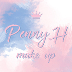 Penny.H Make up 彩妝造型的logo