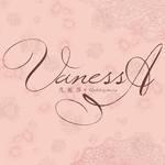 新竹Vanessa手工婚紗。攝影工作室的logo