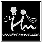 小紅莓影像團隊  H.M STUDIO的logo