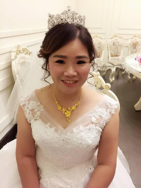新娘秘書,台中婚紗,新娘造型