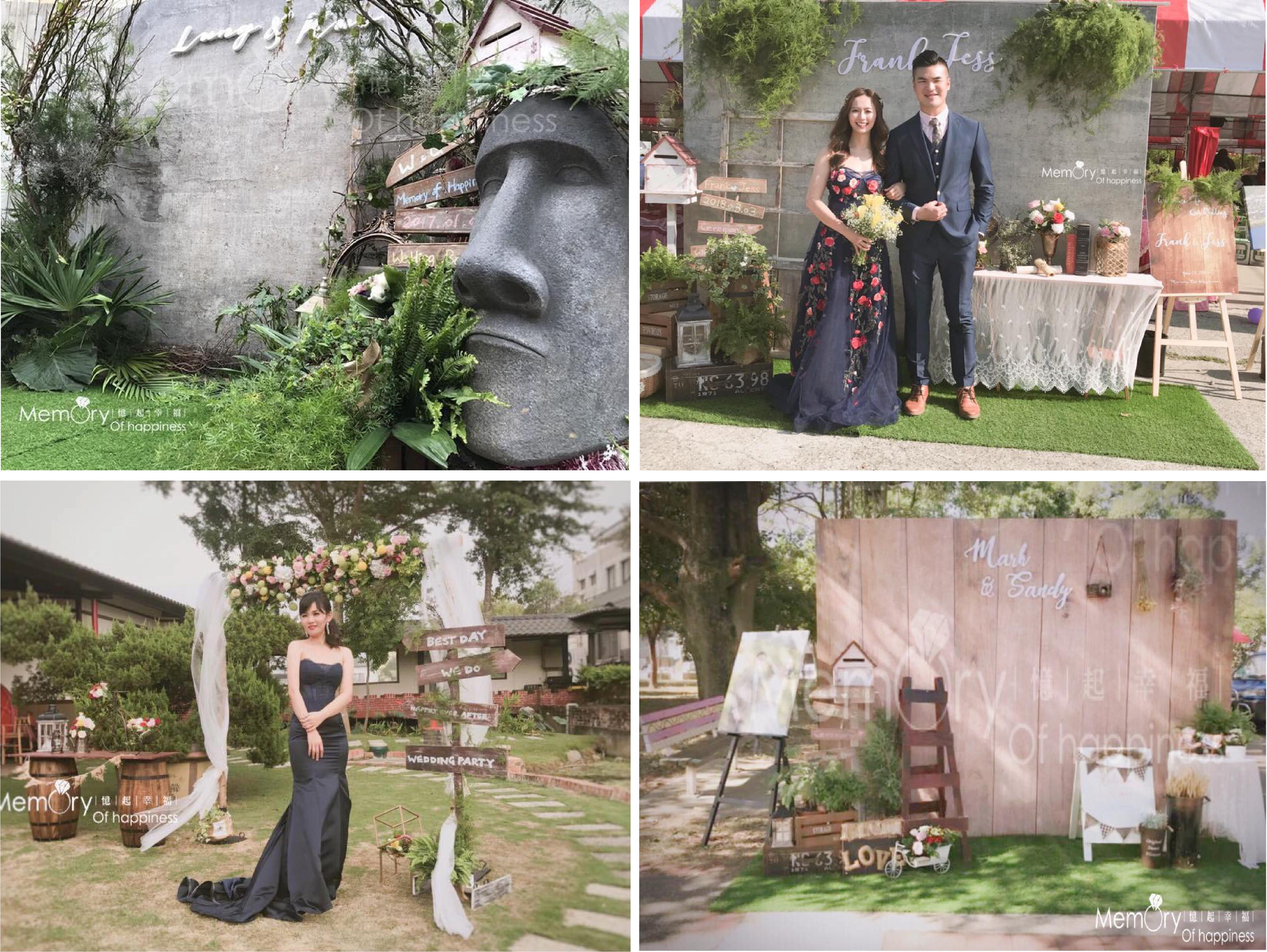 嘉義婚禮佈置-憶起幸福