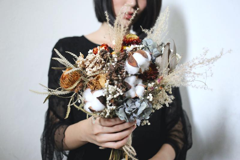 32233949 645030829178919 4727518589161046016 n 最受歐美派新娘喜愛的「自然風美式手綁捧花」!