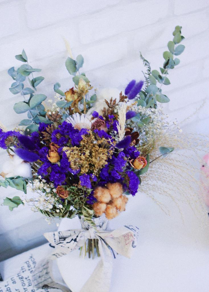 IMG 4196 最受歐美派新娘喜愛的「自然風美式手綁捧花」!