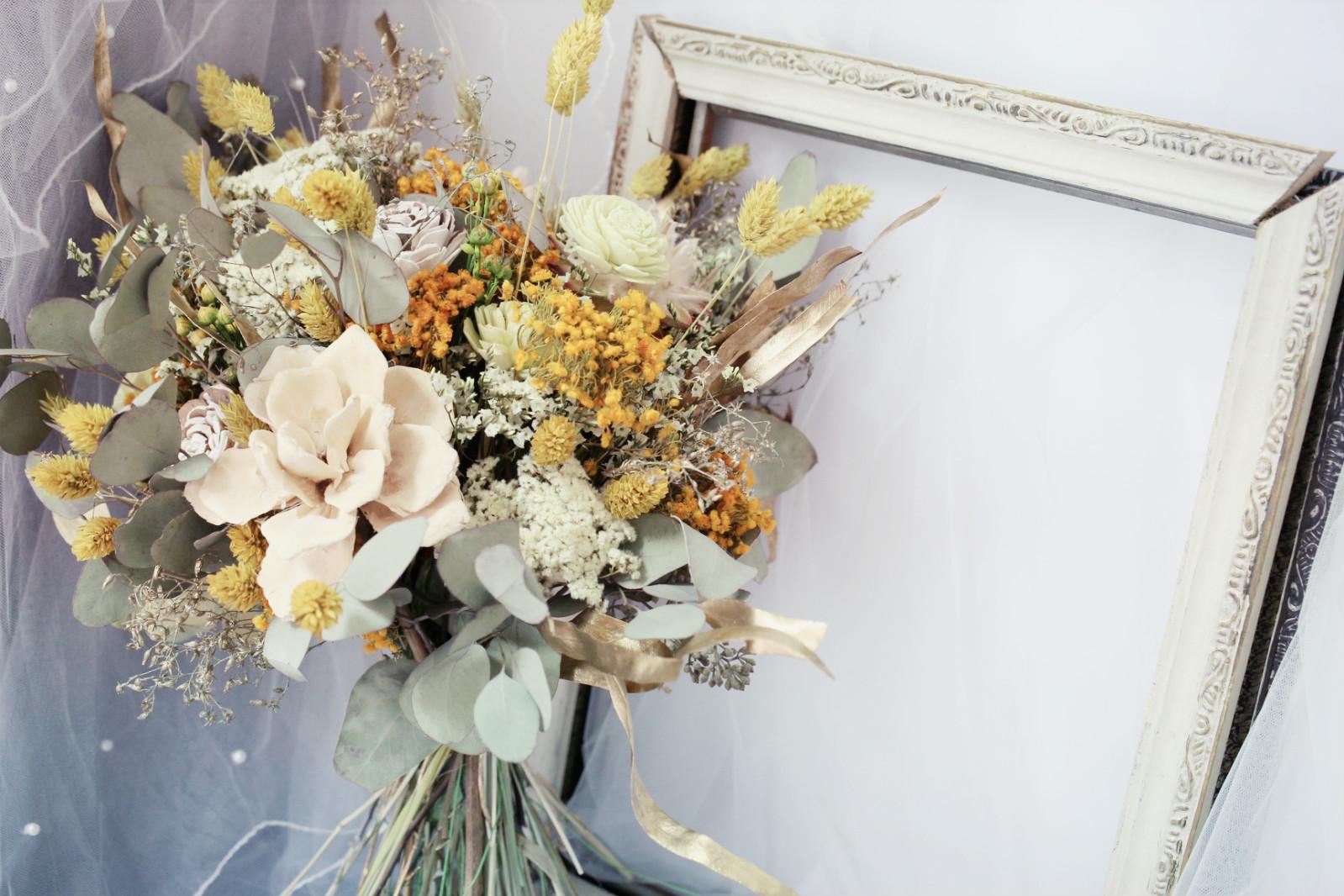 IMG 5394 meitu 1 最受歐美派新娘喜愛的「自然風美式手綁捧花」!