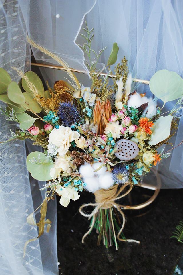 32207254 645177889164213 7020204971085791232 n 最受歐美派新娘喜愛的「自然風美式手綁捧花」!