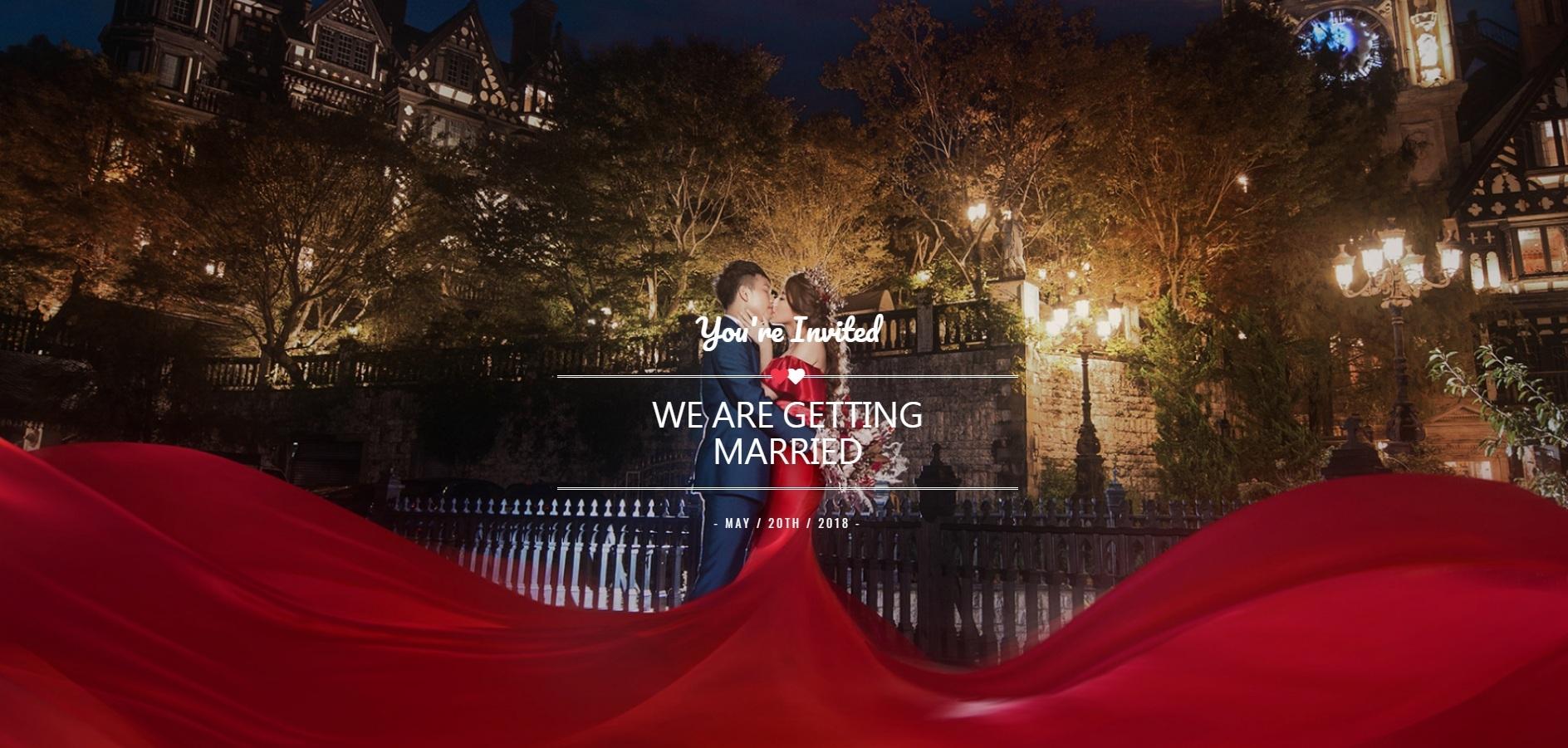 電子喜帖,婚禮網站,可艾婚禮,喜帖設計,喜帖推薦,喜帖,2018喜帖,客製喜帖,ijwedding愛結婚,婚禮出席問卷