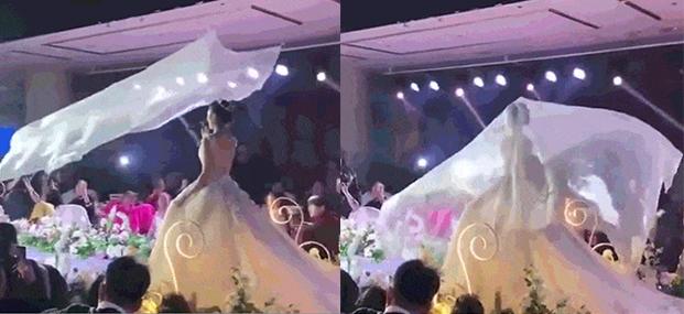 飛行頭紗,婚禮遊戲