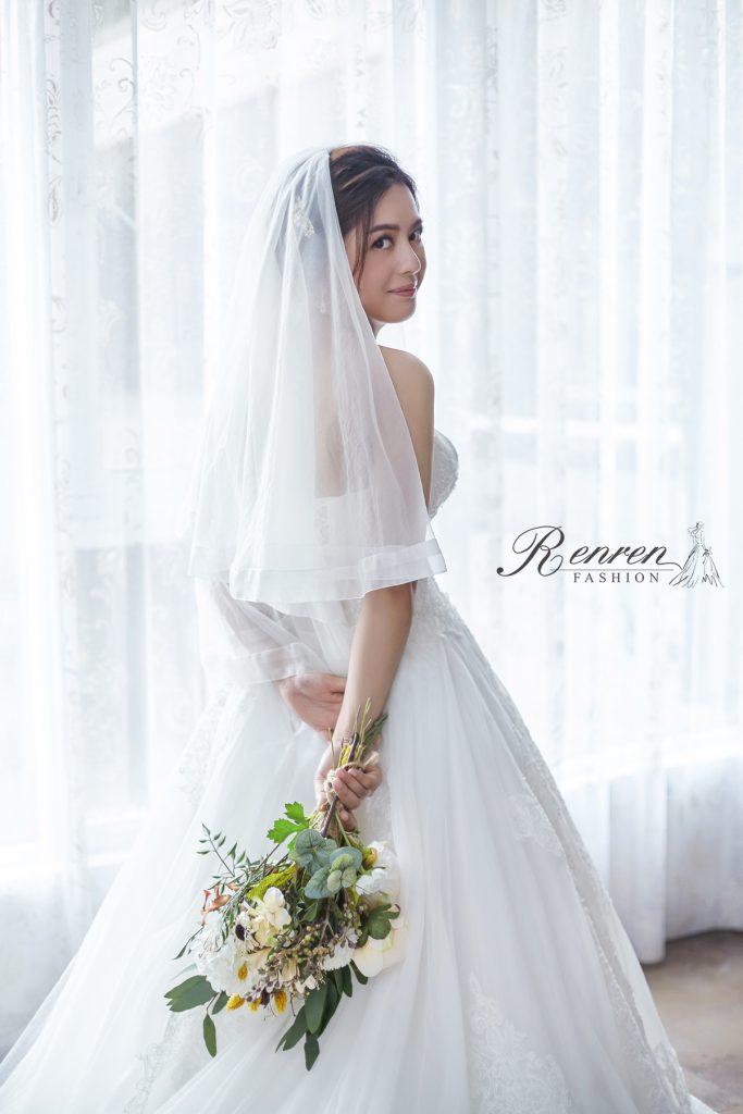 新娘-頭紗-RenRenBridal-冉冉婚紗