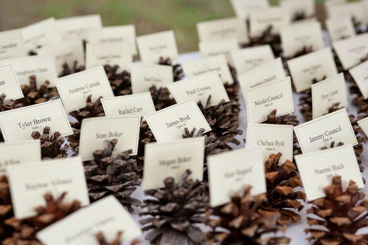 yilbasi dugun davetiye fikri 森林中的溫柔姿態,秋冬婚禮專屬的「特色松果捧花」