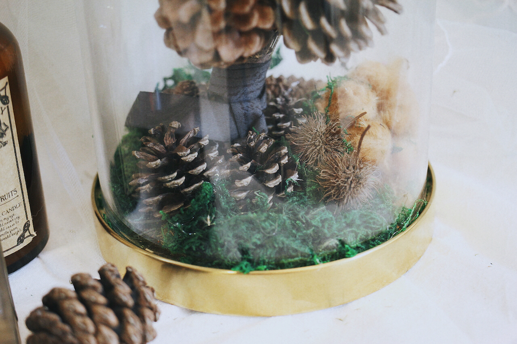 IMG 8118 森林中的溫柔姿態,秋冬婚禮專屬的「特色松果捧花」