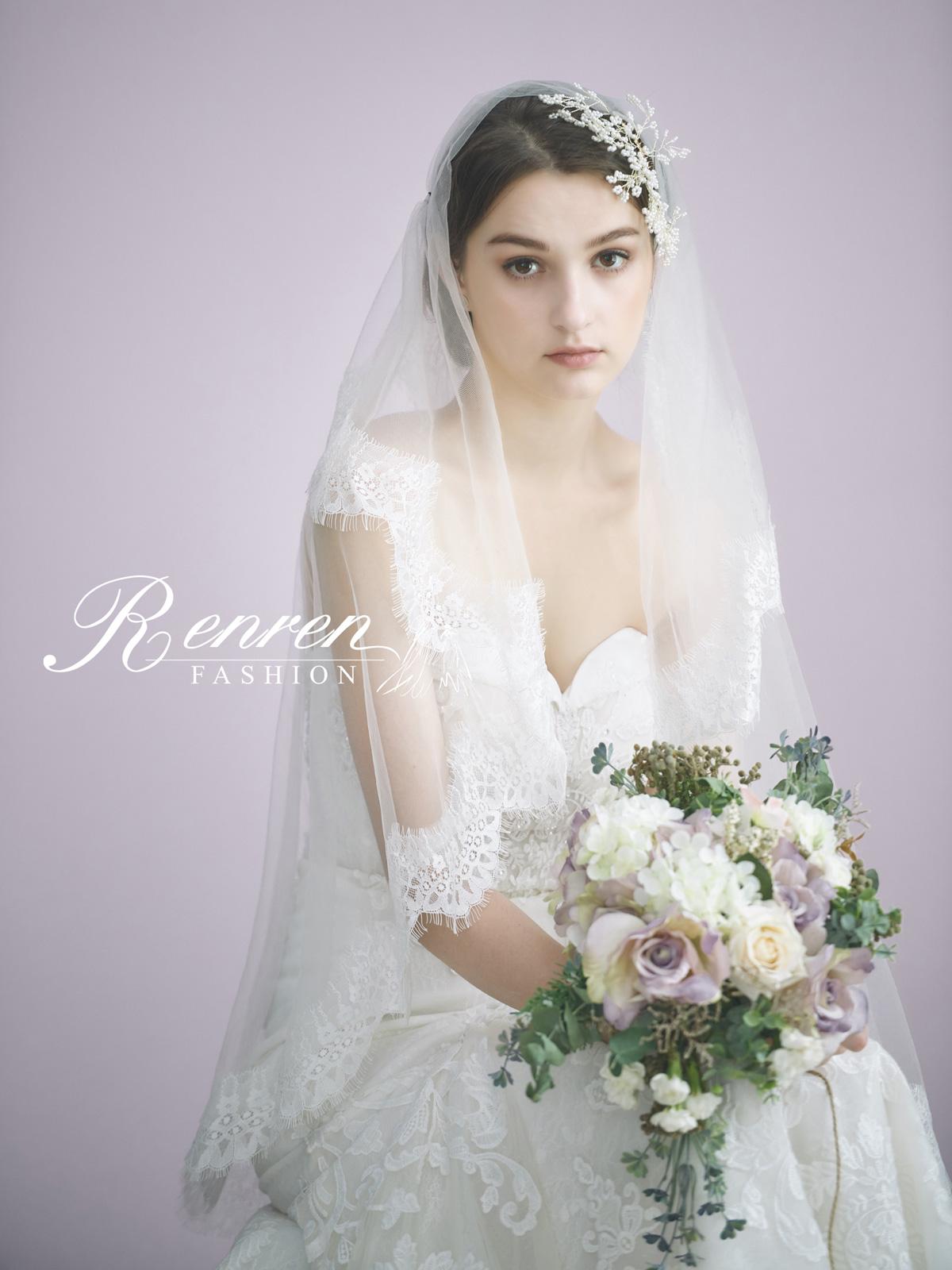 冉冉-歐美婚紗-美式頭紗-8