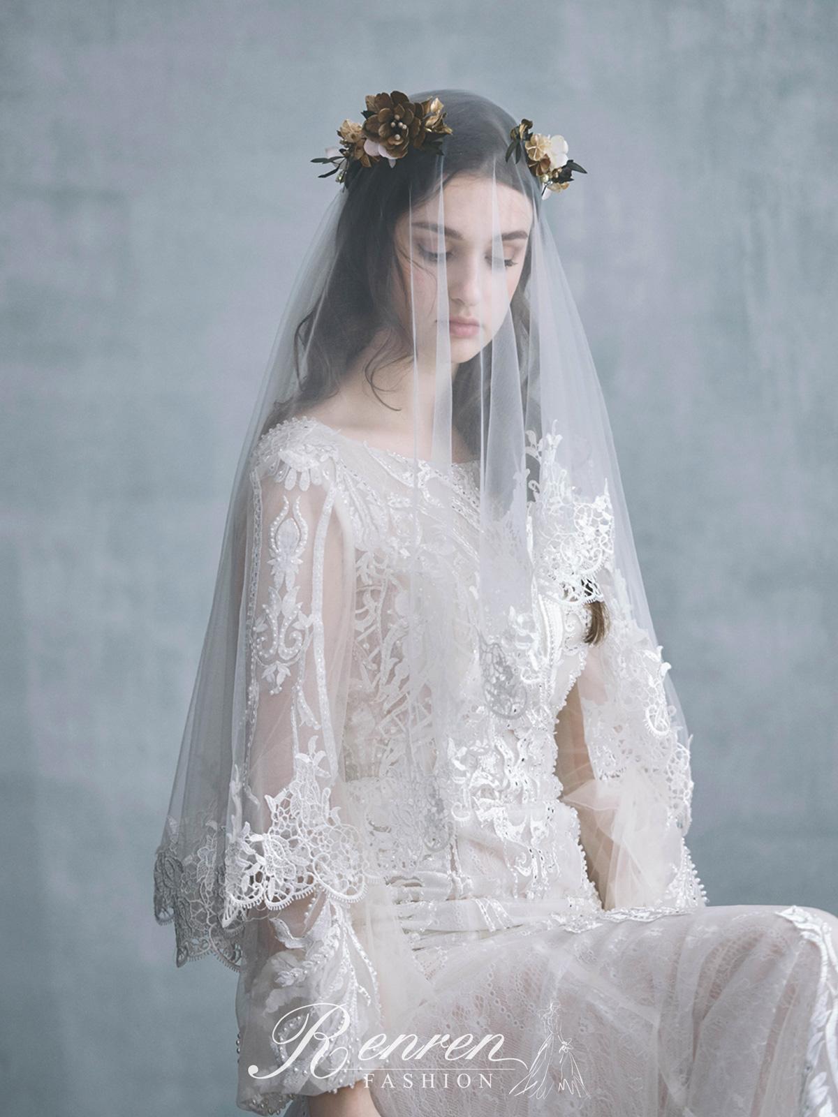 冉冉-歐美婚紗-美式頭紗-9