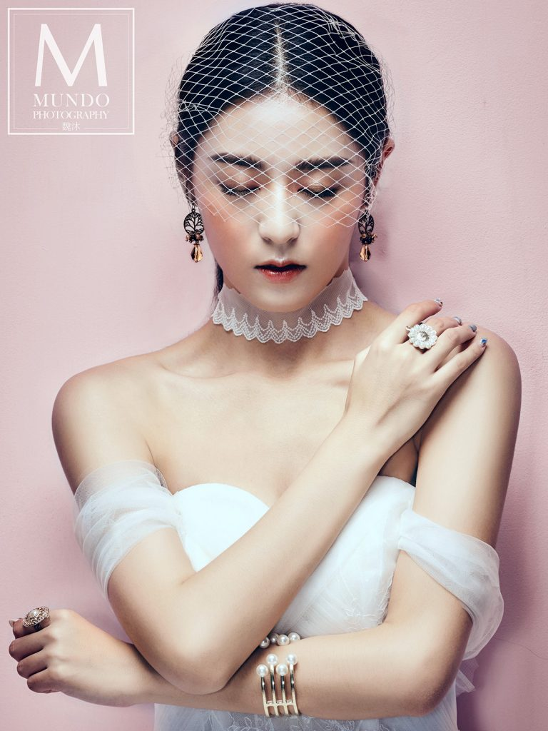 台中-歐美婚紗-美式頭紗