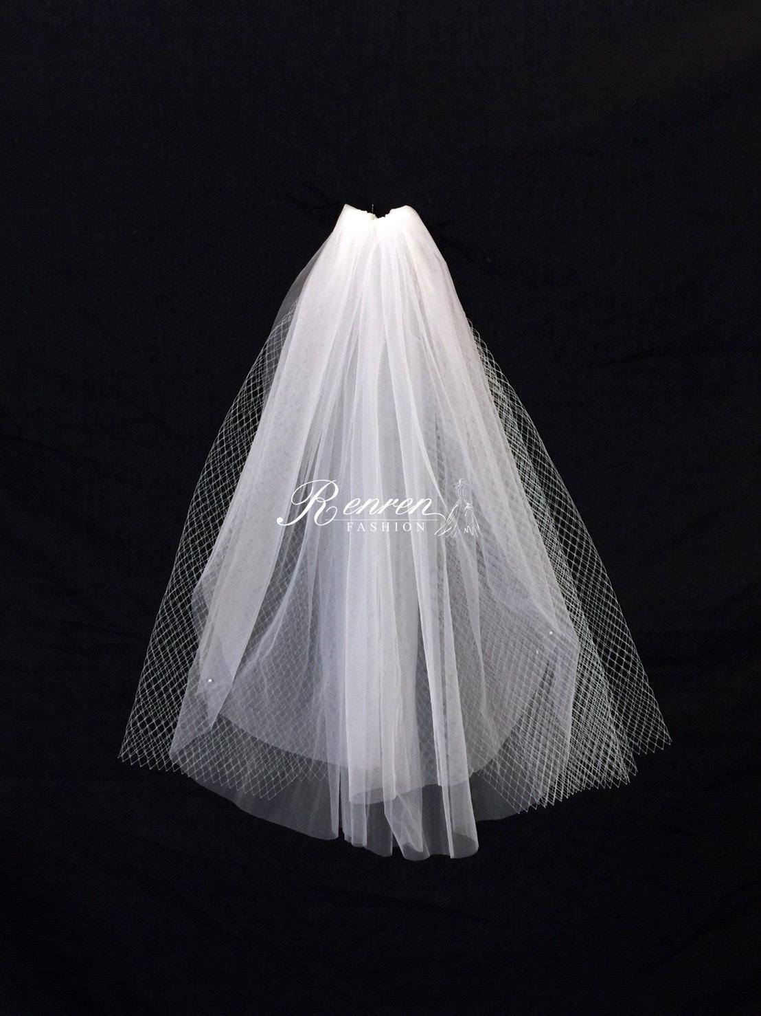 冉冉-歐美婚紗-美式頭紗-2