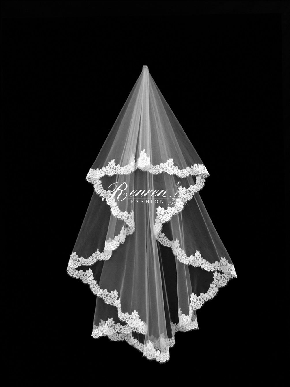 台中-冉冉-歐美婚紗-美式頭紗