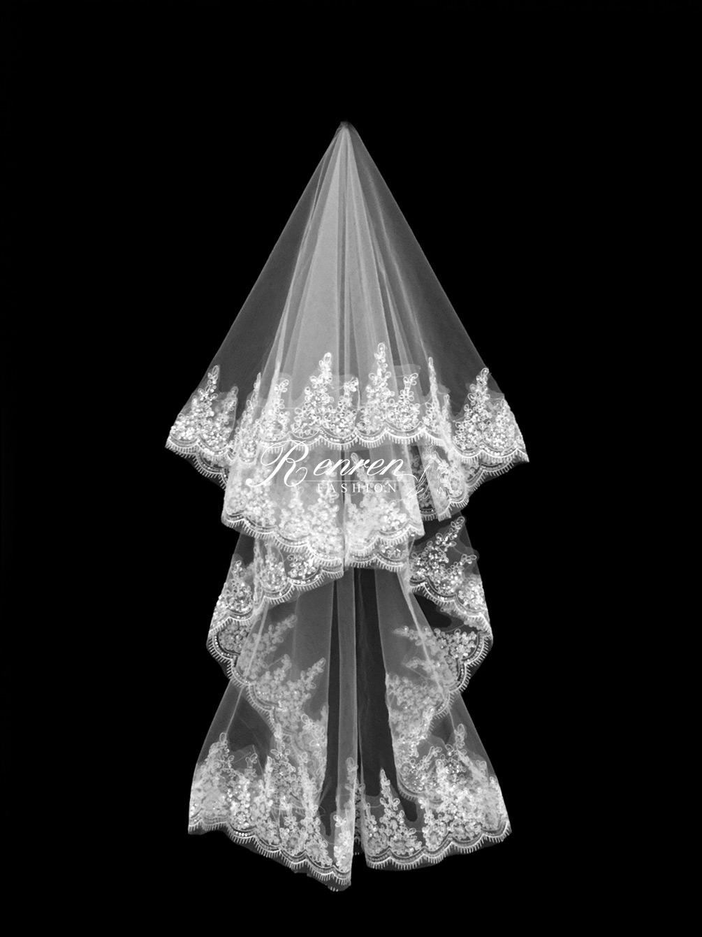 台中-冉冉-歐美婚紗-美式頭紗-2