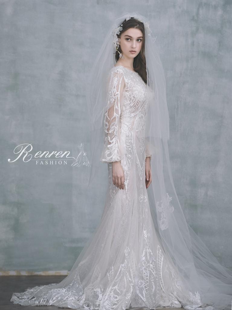 台中-冉冉-歐美婚紗-美式頭紗-8