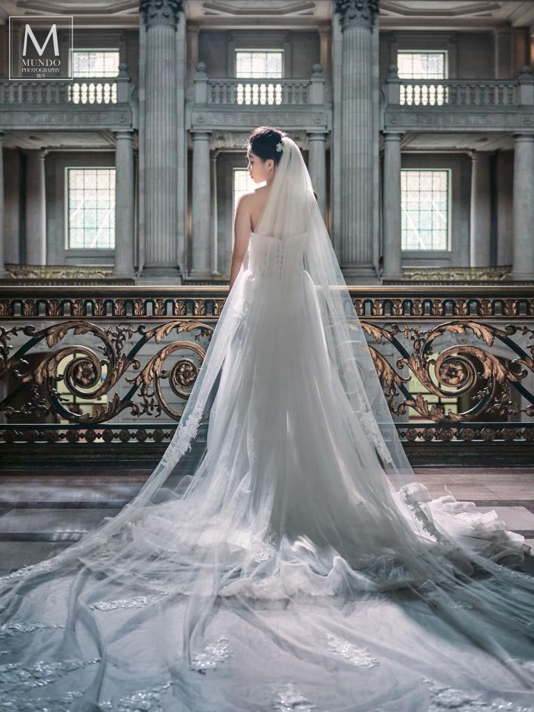 台中-冉冉-歐美婚紗-美式頭紗-11