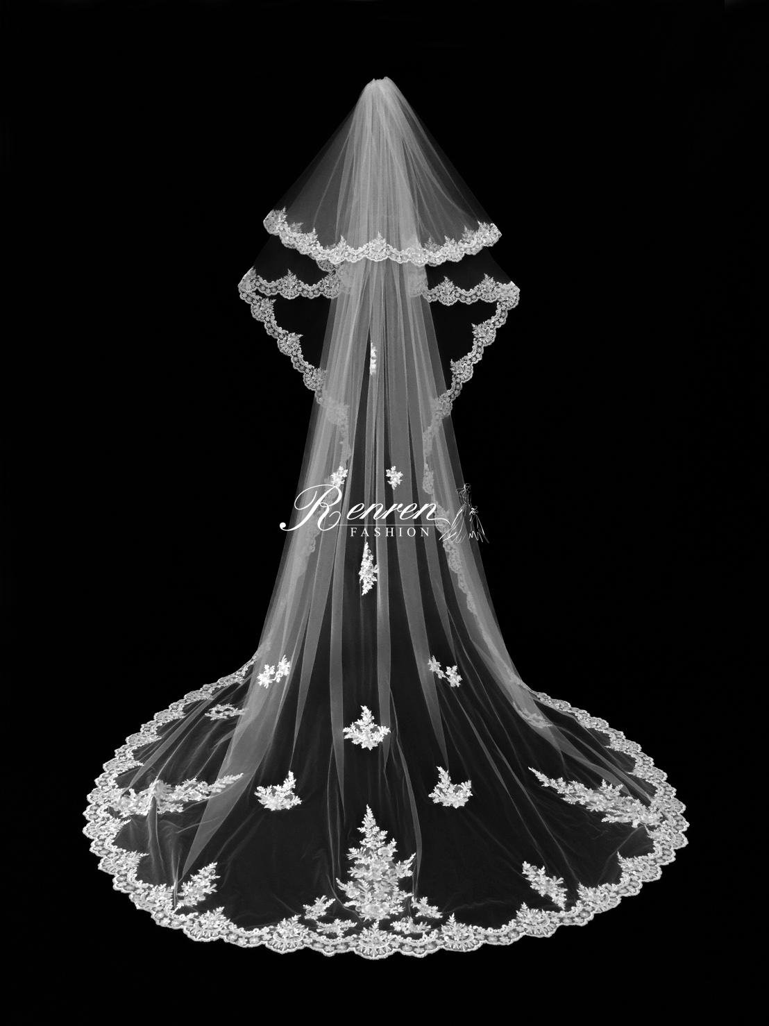 台中-冉冉-歐美-婚紗-美式頭紗-2