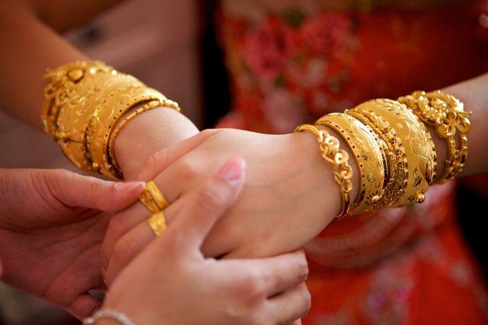 婚禮籌備,金飾,首飾