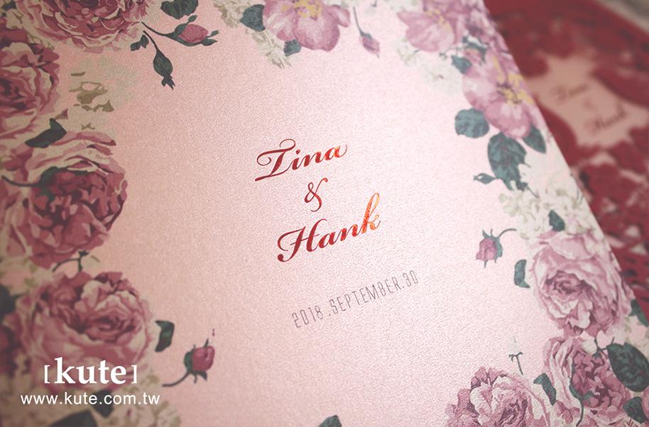 客製喜帖,喜帖質感,喜帖紙質,可艾婚禮