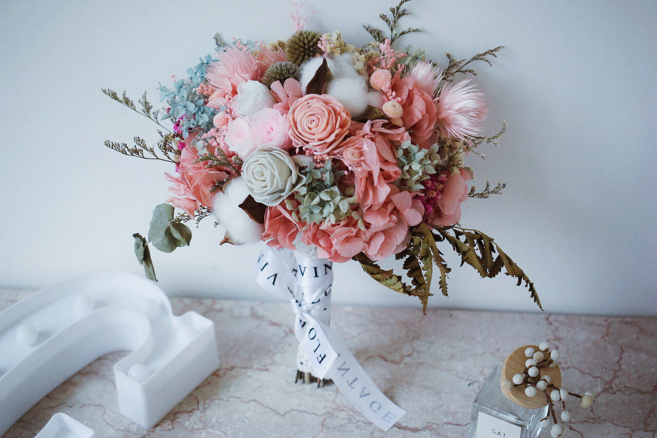 IMG 7094 新娘手上獨一無二的「訂製捧花」原來隱藏這麼多含義和細節…