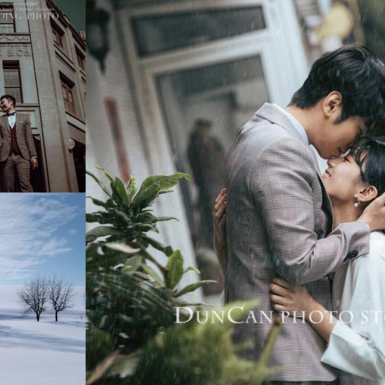 讓Wedding Day為你精選7間攝影工作室的電影風格婚紗照,成為電影封面裡的男女主角。