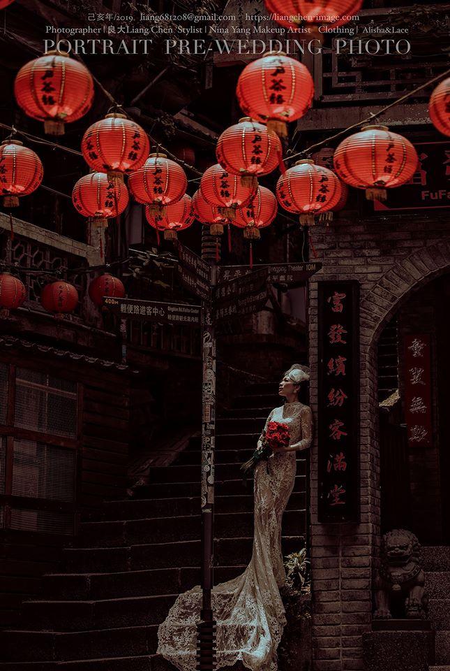 1990年侯孝賢導演拍攝電影《悲情城市》,為大家對九份留下的懷舊情懷刷上一層新興的色彩。圖片來源:良大Liang Chen攝影工作室