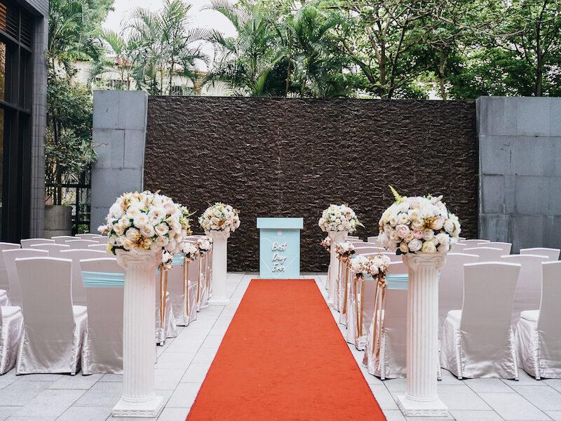 新北市戶外婚禮場地推薦-白金花園酒店