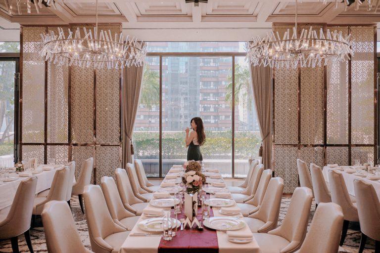  雙雙 台北美福大飯店,GMT 義大利餐廳:適合小桌數新人的西式婚禮場地