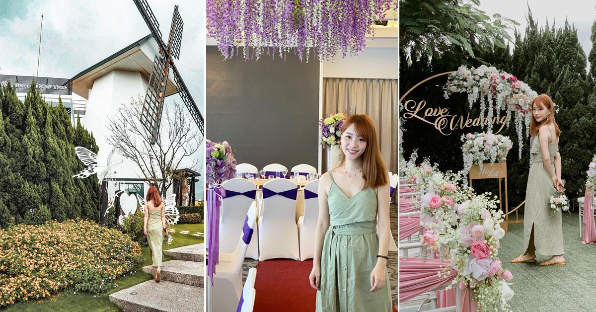 桃園歐式戶外婚禮第一品牌,離不開叢花綻放的浪漫,待嫁新娘嚮往的戶外婚禮!