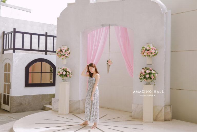 |新莊晶宴會館|浪漫戶外希臘證婚教堂,氣勢華美水晶燈及類婚紗必拍旋轉樓梯,為你打造屬於你的主題婚禮