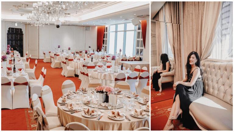 |雙雙|囍宴軒新板館:務實系婚禮場地,交通方便、無樑柱方正格局,首推自然採光維也納廳