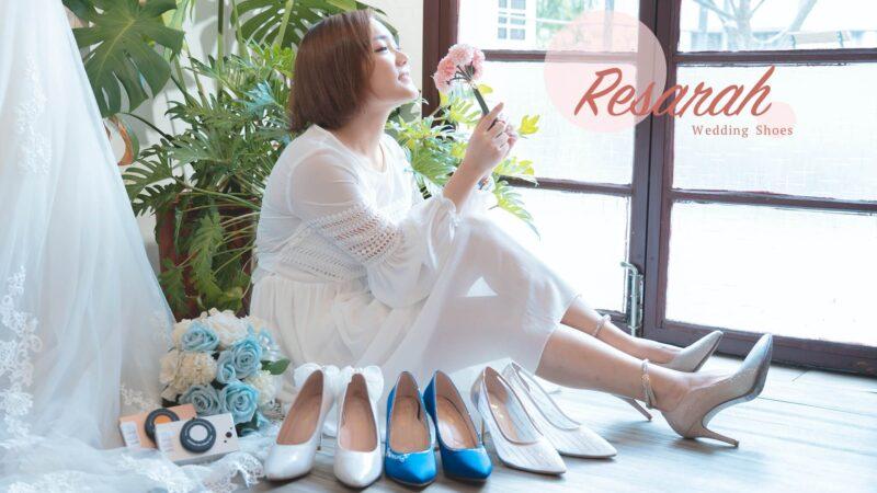 ReSarah 時尚手作婚紗鞋 | 訂製一雙夢幻婚鞋走向美好未來 X 2020珍藏紀念相機計畫