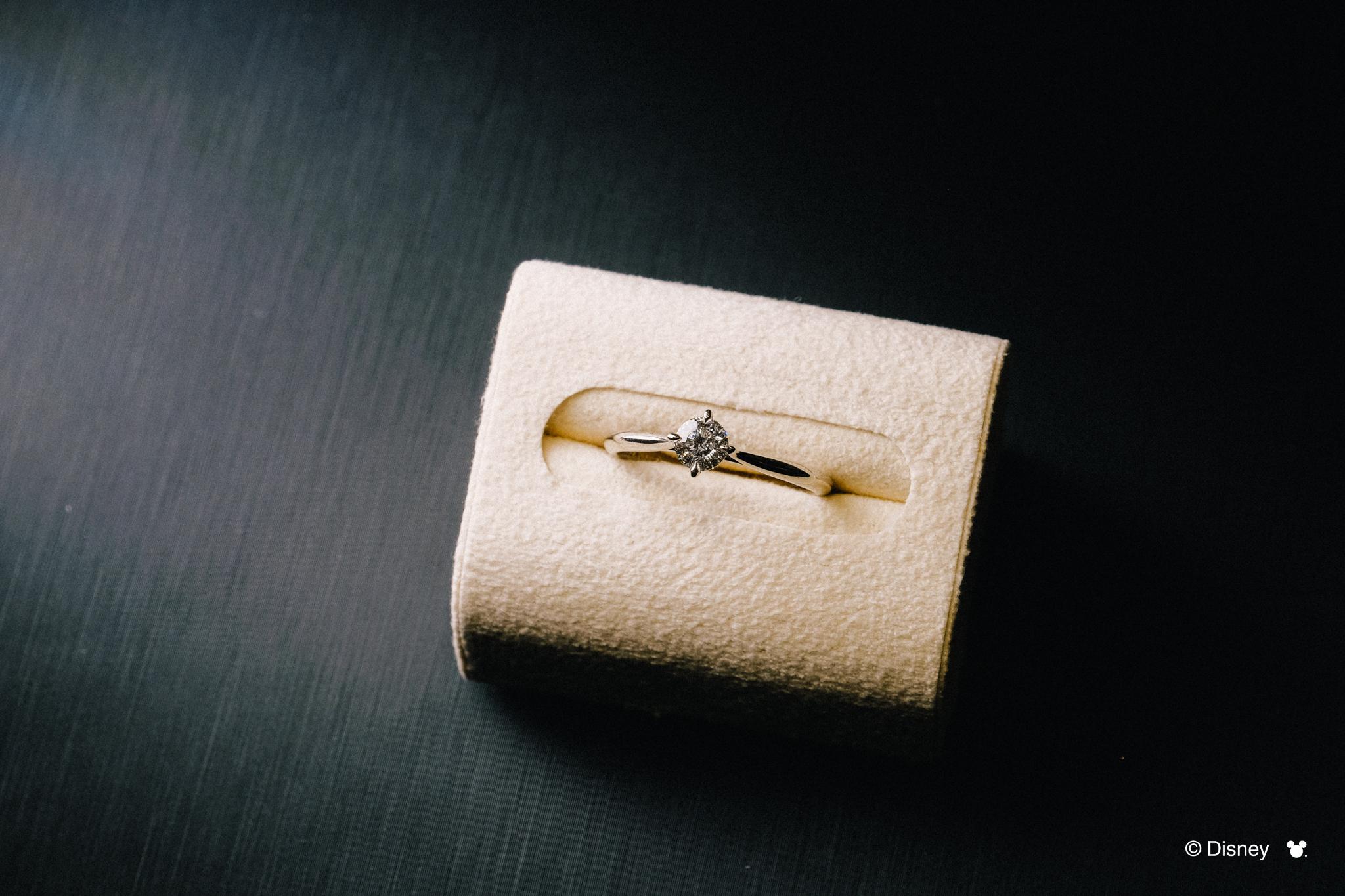 K.UNO 米老鼠/單鑽鑲嵌戒指