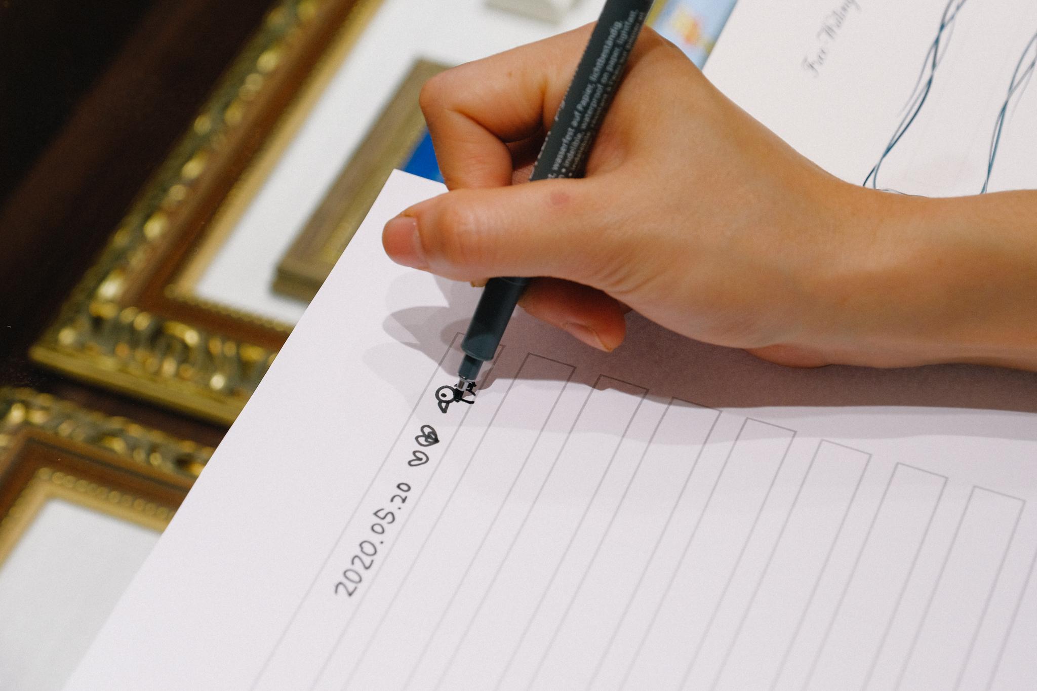 K.UNO 客製化服務 Free Writing刻印